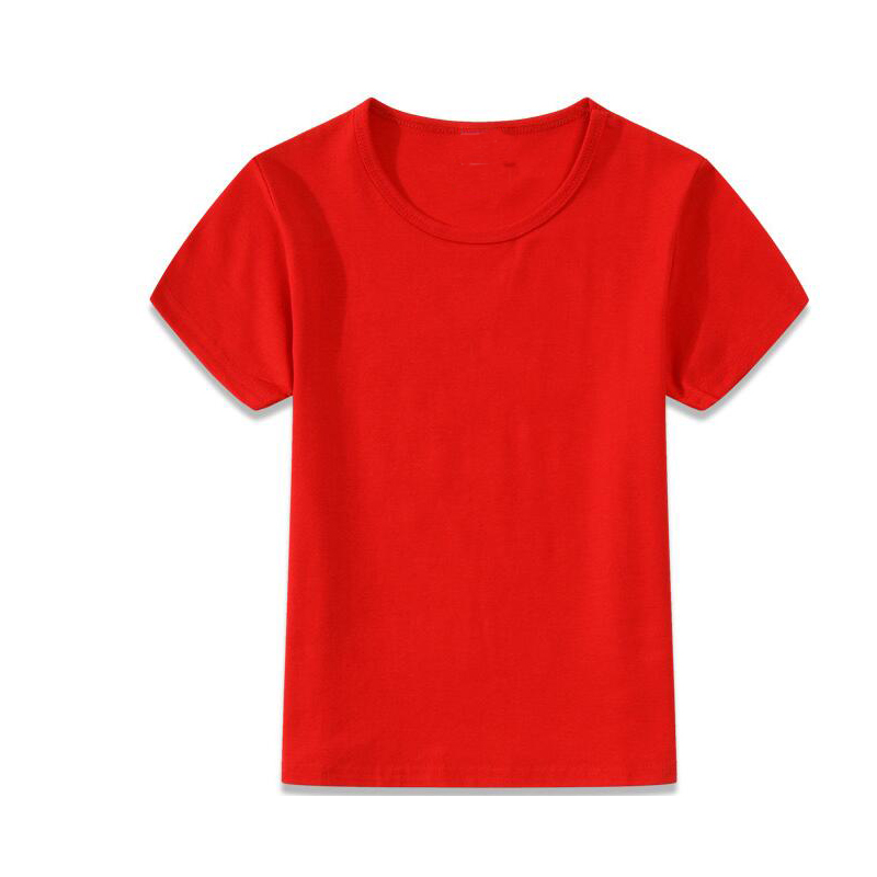 Wholesale bulk shirt for kids red t shirts short sleeve for Kids t shirts in bulk