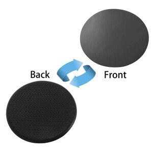 Image 4 - 2 pc silicone preto carro auto copo de água slot antiderrapante acessórios da esteira de fibra de carbono almofada protetora do carro acessórios interiores do carro