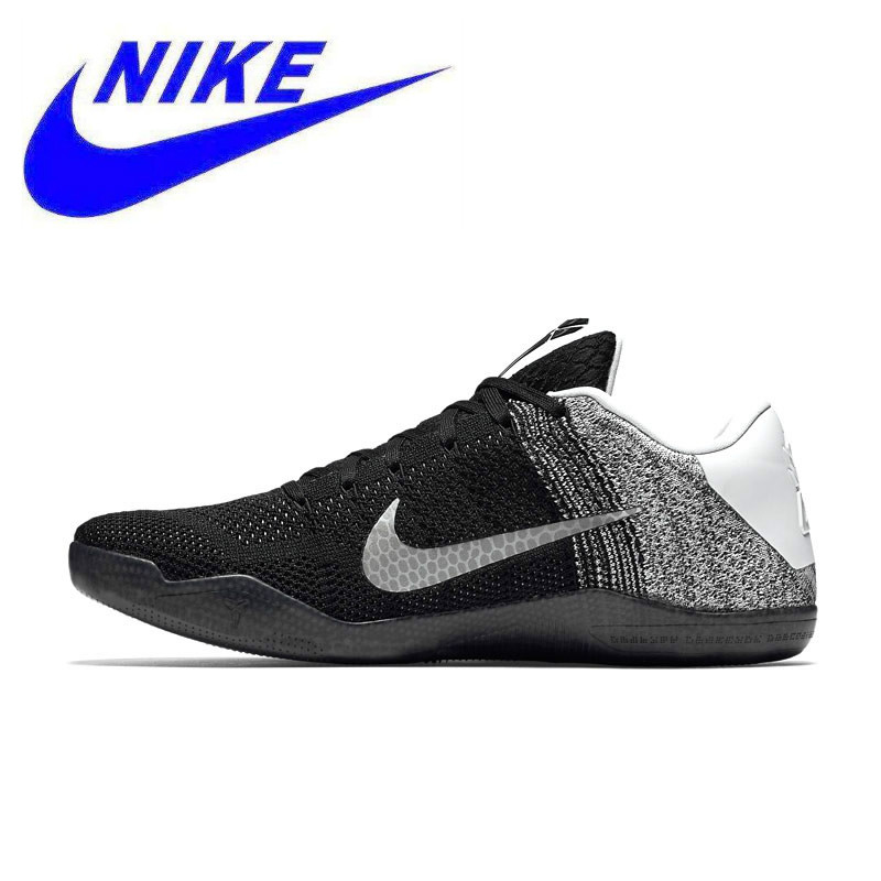 2a5f69b62a90 New Arrival Authentic Nike Kobe 11 Elite Low Men s Original Breathable  Basketball Shoes Sports Sneakers Trainers