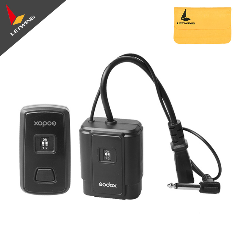 Godox DM-04 433MHz 4 Channel 1/200s Sync Wireless Studio Flash Trigger  Radio Transmitter & Receiver For DSLR Cameras