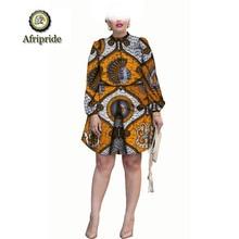 hot deal buy 2018~2019 african women dress pure cotton dashiki new style  dress  bazin riche ankara print fabric fashion  afripride s1825010