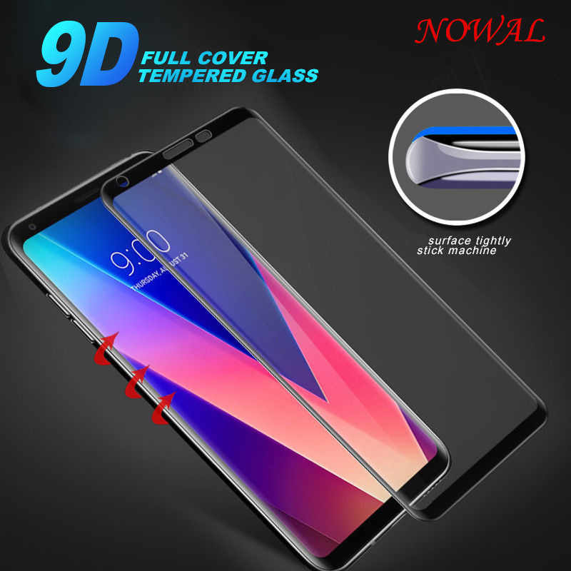 NOWAL 9D 9H Screen Protective Tempered Glass Hardness Phone Case For LG G5 G6 G7 V30 V40 Scratch-proof Flim Front Cover Shells