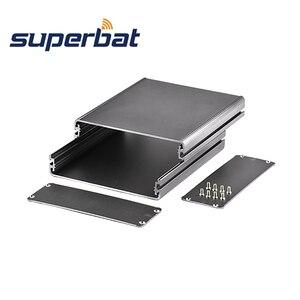Image 2 - Superbat Tùy Biến Chia Cơ Thể Hộp Nhôm PCB Kèm Ốp Lưng Dự Án Điện Tử DIY  140*122*45Mm (L * W * H)