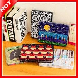 2017 A5 Multifunction Storage Organizer for Small Things,Large Capacity Cartoon Cosmetic Metal Tin Box,Organizador De Maquillaje