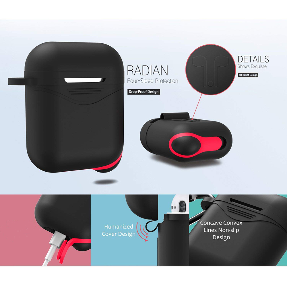 Ascromy-Protective-Case-Cover-For-Airpods-Apple-Wireless-Headphone-Charging-Box-Keychain-Strap-Dust-Plug-For-Airpod-Accessories (13)