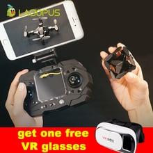 lagopus 901H Mini drone & VR glasses RC Quadcopter WIFI 640P with camera HD 3D Foldable dron High Fixed VS E58 XS809HW H37