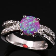 Filigree Pink Fire Opal & Jewelry 925 Sterling Silver Stamped Fashion Casual Trendy Women's Party Jewelrys Us# Size SF1021
