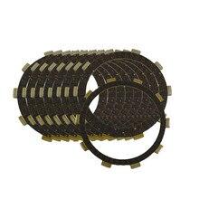 Motorcycle Engine Parts Clutch Friction Plates Kit For HONDA CBR600F2 CBR 600F2 CBR600 F2 CBR 600