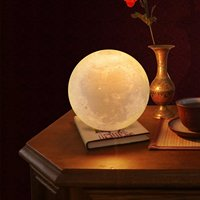 Moon Lamp 3D Printing Moon Lamp Creative Lamp Bedroom Bedside Nightlight Birthday Gift