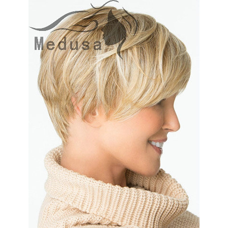 Medusa Hair Products Sassy Boy Cut Short Pixie Wigs For Women