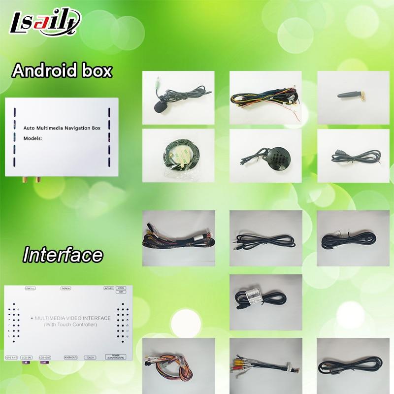 Android 6,0 GPS caja de navegación interfaz de vídeo para AUDI A8 con espejo de teléfono inteligente, aplicaciones - 4