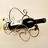 Private Custom Wine Rack Shelf Vintage Wine Vintage Car Iron Metal Crafts Ornaments Original Design