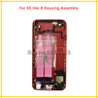 New Back Middle Frame Chassis Full Housing Assembly Battery Cover With Flex Cable For Iphone 6S