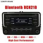 Автомобильный Радио CD плеер стерео RCN210 RCD320 MP3 SD карта AUX Canbus Bluetooth для VW Passat B6 CC B7 Golf 5 6 Jetta MK5 MK6 Tiguan