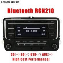 Auto Radio CD Player Stereo RCN210 RCD320 MP3 Sd karte AUX Canbus Bluetooth Für VW Passat B6 CC B7 Golf 5 6 Jetta MK5 MK6 Tiguan