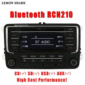 Image 1 - سيارة راديو ومشغل أقراص ستيريو RCN210 RCD320 MP3 SD بطاقة AUX Canbus بلوتوث لشركة فولكس فاجن باسات B6 CC B7 جولف 5 6 جيتا MK5 MK6 تيجوان
