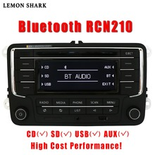 Radio y reproductor de CD para coche, estéreo, RCN210, RCD320, tarjeta SD, MP3, AUX, Canbus, Bluetooth, para VW, Passat B6, CC, B7, Golf 5, 6, Jetta, MK5, MK6, Tiguan