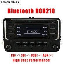 カーラジオcdプレーヤーステレオRCN210 RCD320 MP3 sdカードaux canbus bluetooth vwパサートB6 cc B7ゴルフ5 6ジェッタMK5 MK6ティグアン