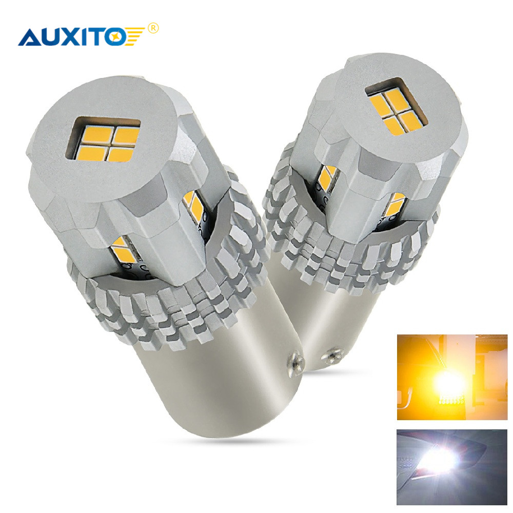2x P21W LED 1156 BA15S 5630 5730 LED Bulbs <font><b>Rear</b></font> Reversing <font><b>Light</b></font> Backup Reverse Lamp For <font><b>Volvo</b></font> XC90 XC60 V70 <font><b>S80</b></font> S40 V60 C30 V50 image