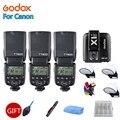 Godox tt600 2.4g sem fio câmera flash speedlite, godox X1T-C transmissor ttl disparador de flash remoto sem fio para câmera canon