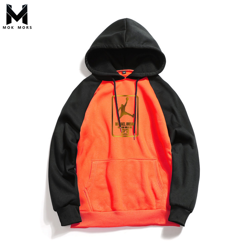 Men Hoodies Sweatshirts Sportswear High-Street-Jogger Fashion Business Wild Casual Slim
