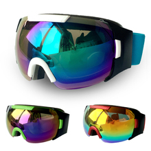Large Spherical Double Lens Snow Goggles Glasses Unisex Snowboard Skiing Goggle SG47