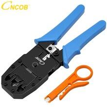 CNCOB sertissage de câbles, outil de sertissage modulaire 3 en 3, pour crts, bandes et sertissage 8P8C/RJ 45,6P6C/RJ12, 6P4C/RJ 11,4P4C/422c