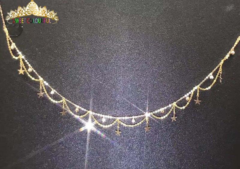 Sieraden 18 k Au750 gouden Ketting huwelijksgeschenken W 102-in Kettingen van Sieraden & accessoires op  Groep 1