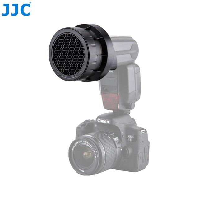 JJC 3 in 1 Studio Flash Speedlite Kit Diffuser Softbox Honingraat voor CANON 600EX II RT/580EX II/YONGNUO YN560 IV/YN 600EXII