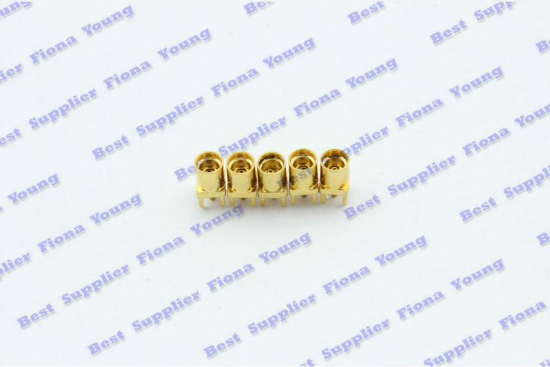 50 pcs\lot  Wholesale MMCX female Jack Center Solder PCB Mount RF Connector Free Shipping high quality 10 pcs x bnc female nut bulkhead solder rf connector adapters