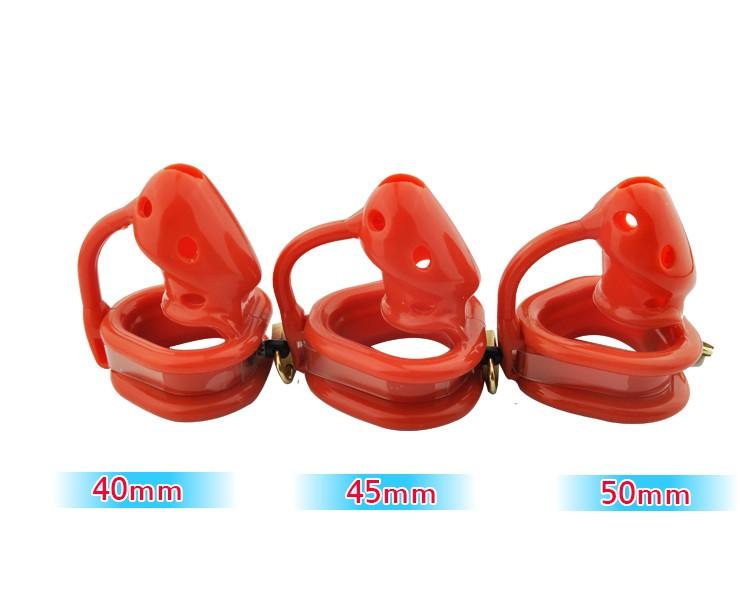 Latest-design-Reddish-Orange-Birdlocked-Pico-massage-Silicone-spikes-Massage-Male-Chastity-Small-Cage-Fixed-Ring (2)