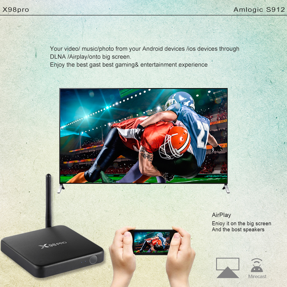 X98Pro Box with 1 Year SUBTV Arabic French FULL HD 4K IPTV Subscription 3G 32G Android TV Box S912 Portuguese IPTV Subscription  (12)