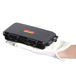 Image 4 - Outdoor Shockproof Waterproof Tool Box Airtight Case EDC Travel Sealed Survival Container Storage Carry Box With Foam Lining