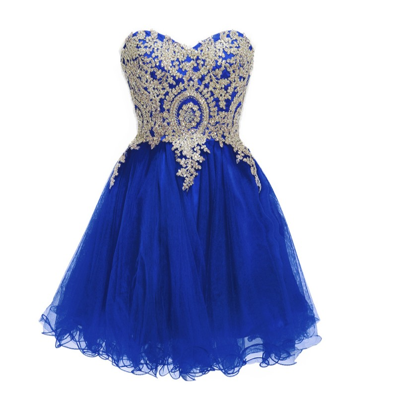 2019 New   Bridesmaid     Dresses   Short Navy Blue Lace Junior Maid of Honor Country Party Guest Real Image Lace Up in Stock