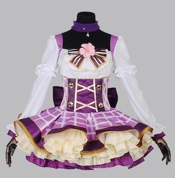 Love Live cosplay Anime Cartoon Tojo Nozomi cosplay Halloween Masquerade party woman Bouquet awakening cosplay sweet costume
