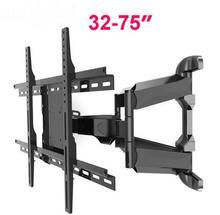 """MA70A Super Qualidade Retrátil Universal 32 """"-75"""" LCD LED Monitor de Rotação Tilt TV Wall Mount Heavy Duty suporte Do Braço"""