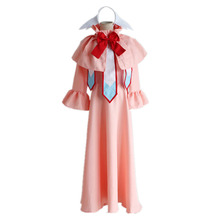 Fairy Tail Mavis Vermilion cosplay Costume Carnival Halloween Costumes for women adult pink dress