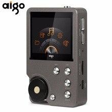 Aigo 105 8 GB Reproductor MP3 Universal Premium Gris Entusiasta HiFi Lossless Música 2.0 Pulgadas Pantalla de Salida de Doble Canal