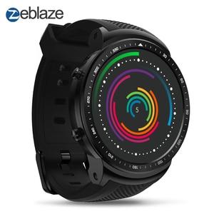 Image 2 - 기존 Zeblaze 스마트 시계 토르 프로 3G 안드로이드 Smartwatch RAM 1GB + ROM 16GB 안드로이드 5.1 GPS 와이파이 블루투스 다이얼 손목 시계