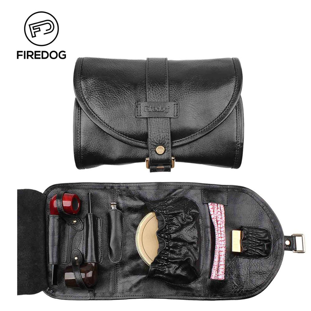 Accessoires en cuir véritable pour Pipe à tabac FIREDOG pochette pour sac à outils pour mauvaises herbes