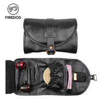 FIREDOG Tobacco Pipe Genuine Leather Accessories Smoking Pipe Pouch for Weed Tool Bag Case