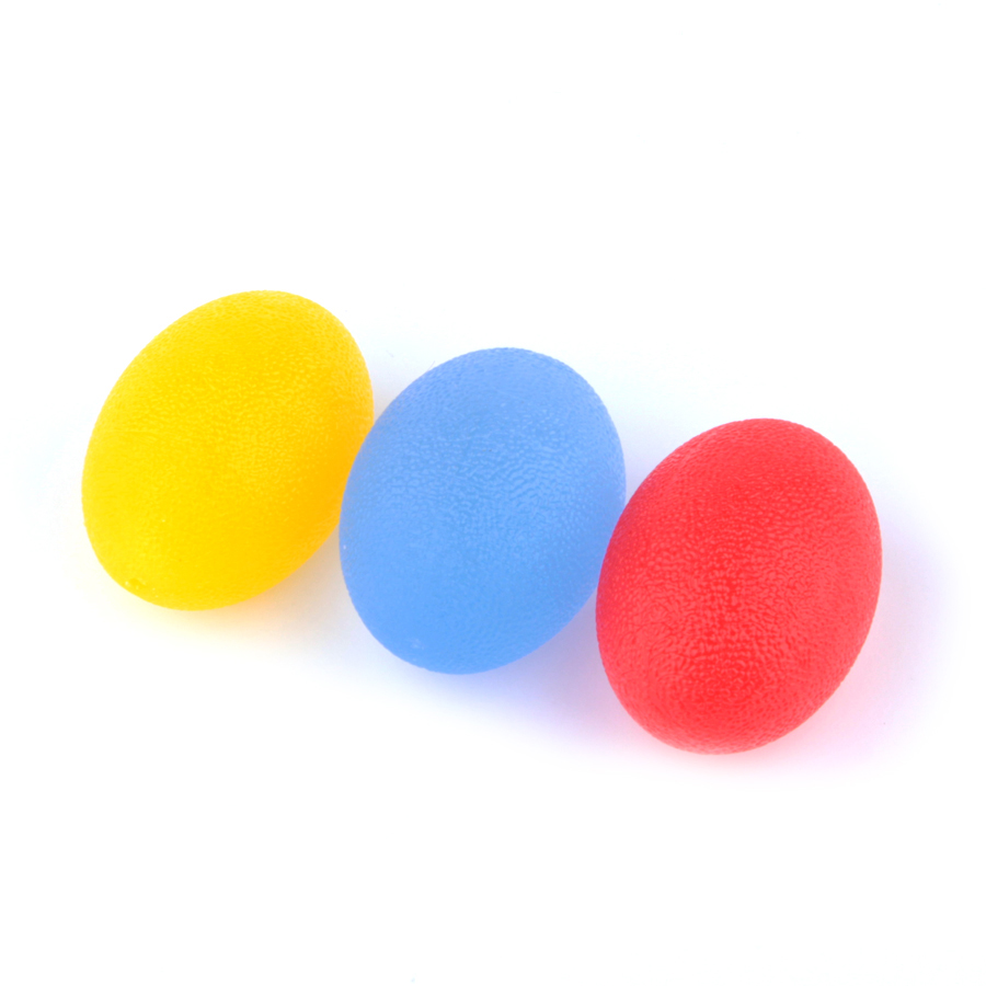 Silicone Egg Massage Hand Expander Gripper Strengths Hand Expander Stress Relief Ball Forearm Finger Pow Gym Exercise Equipment