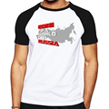 Nova arrivaled clothing rússia projetado t-shirt dos homens de fitness casual camisa hip hop camiseta de manga Curta de fitness & body building tee