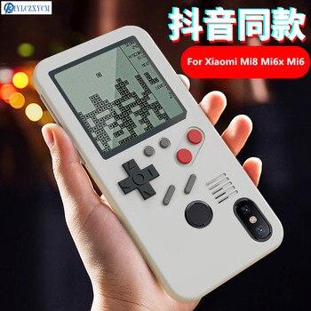 Kiylczxycm Para Xiaomi Mi6 Mi6x Mi8 Caso Consola De Juego Tetris
