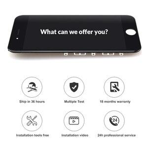 Image 2 - 10 יח\חבילה הטוב ביותר AAA Pantalla עבור iPhone 8 LCD תצוגת מסך מגע עם החלפת Digitizer עצרת חלקים עבור iphone 8G מסך