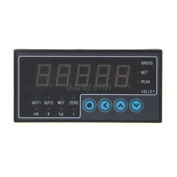 AC 50/60 Hz 100-240V Load Cell Indicator Display Weighing Transducer Batching Trasmitter S Weight Sensor 2 Way Output 96x48