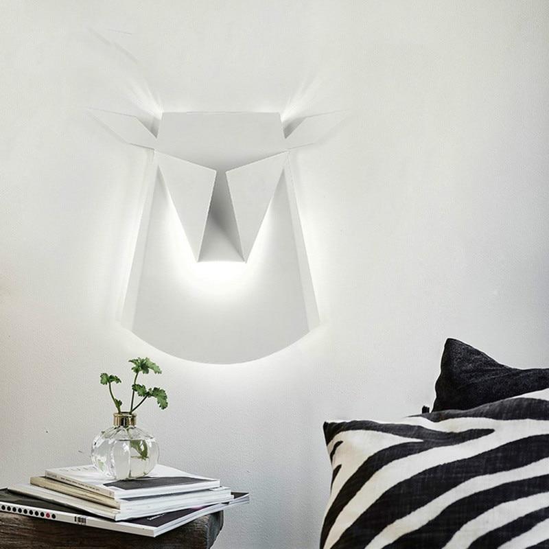 Здесь можно купить  Creative Wall Lights Led Wall Lamp Bedroom Bedside Decoration Sconces Lamp fashion Living Room Corridor Hotel Wall lamp IY121767  Свет и освещение