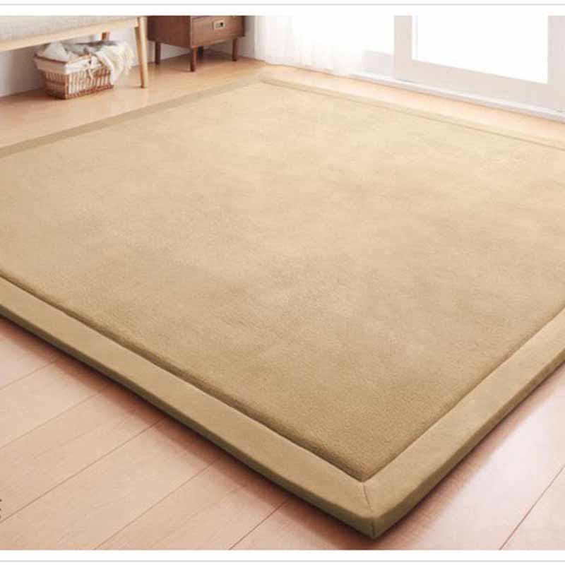 Chpermore Simple Tatami Mats Large Carpets Thickened Bedroom Carpet Children Climbed Playmat Home Lving Room Rug Floor Rugs