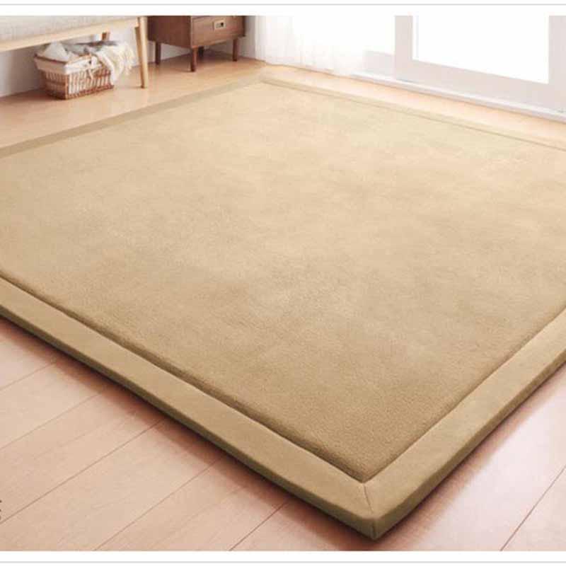 Chpermore tapis Tatami simples | Grands tapis épais de chambre à coucher, tapis de jeu pour les enfants, tapis de chambre à coucher, tapis de sol pour la maison