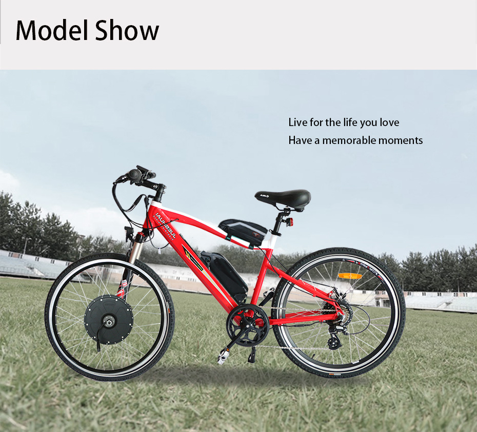 "HTB1wO9lXcvrK1Rjy0Feq6ATmVXap - 48V Lithium Battery Electric Bike Kit 350w 500w Hub Motor Wheel for 26"" 700C  MTB Bike Road Bicycles E Bike Conversion Kit"